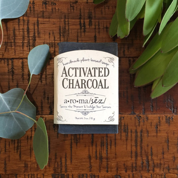 plant based soap activated charcoal