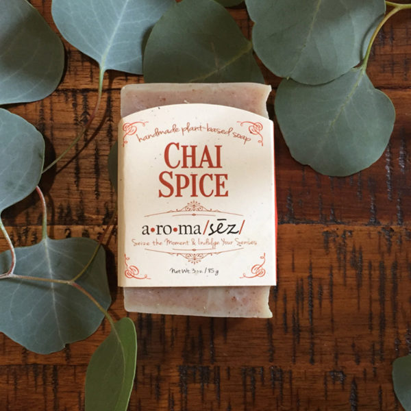 plant based soap chai spice