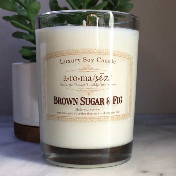 Brown Sugar and Fig Soy Candle