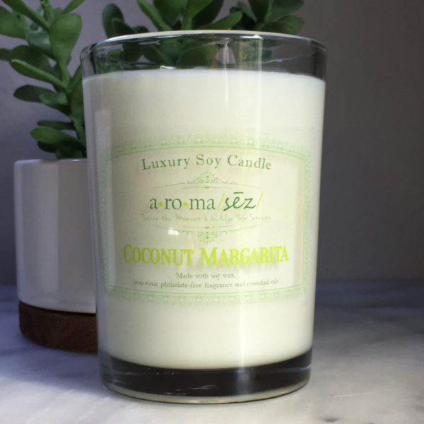 soy candle coconut margarita