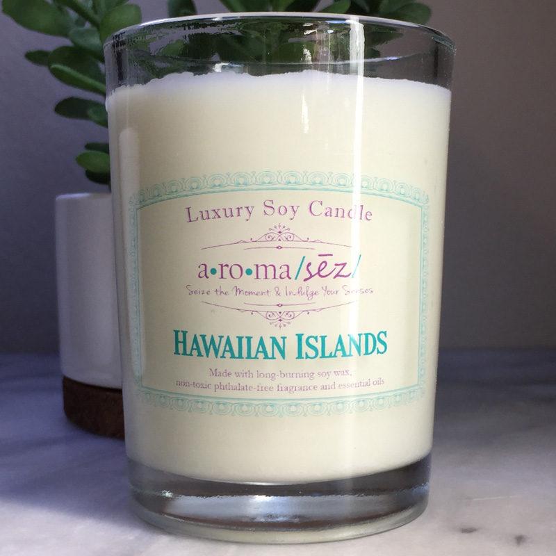 Hawaiian Islands Soy Candle