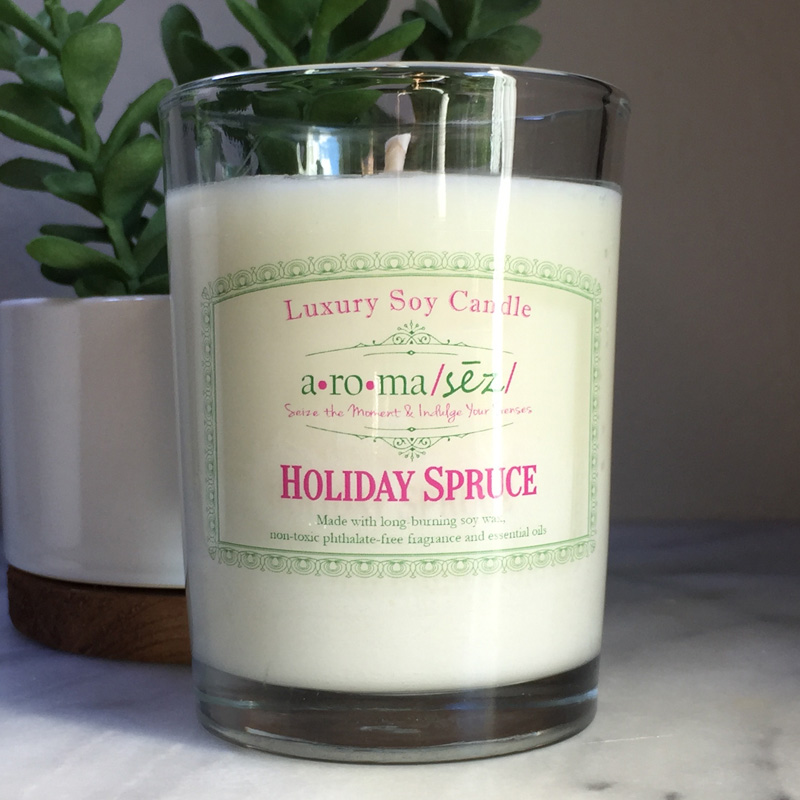 Holiday Spruce Soy Candle