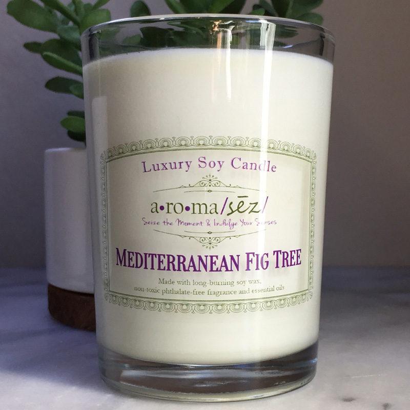 Mediterranean Fig Tree Soy Candle