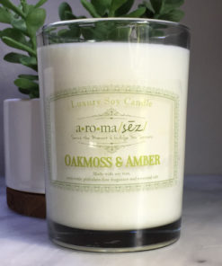 Oakmoss and Amber Soy Candle
