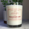 Pomegranate Cider Soy Candle