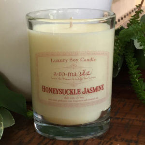 soy candle honeysuckle jasmine