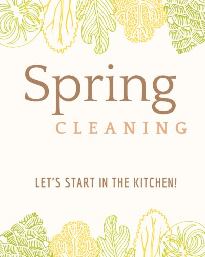 It's Time for Spring Cleaning!